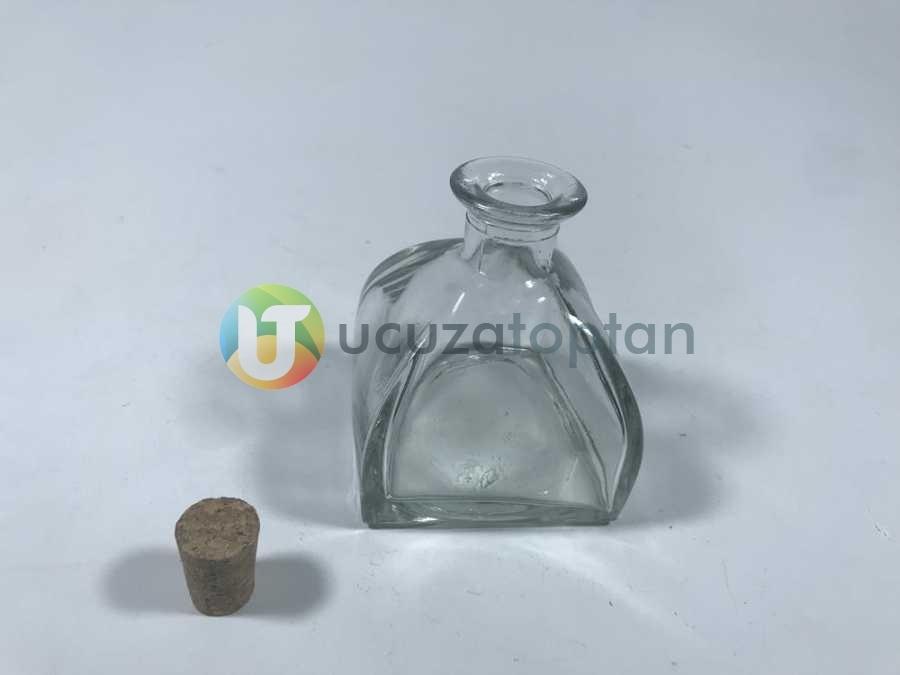 200 ml Kübik Difüzör Model Mantarlı Şişe (1 Koli 40 Adet)