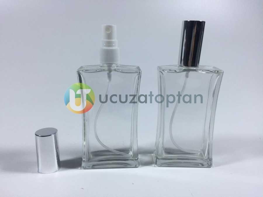 100 ml Boş Parfüm Şişesi İnce Belli - 80 adet (1 Koli)