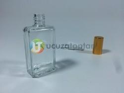 50 ml Boş Parfüm Şişesi Kesik Köşe Modeli- 1 Koli - Thumbnail