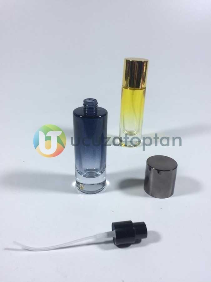 30 ml Rengarenk Boş Parfüm Şişesi - 1 Koli (120 Adet)