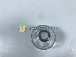 Gümüş Renk Kapaklı 120 ml Silindir Bambu Koku Şişesi - 1 Koli (56 Adet) - Thumbnail