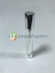 İnce Şeffaf Camlı 10 ml Boş Kalem Parfüm Şişesi (1 Koli- 2.250 Adet) - Thumbnail