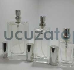 Kapatma Valfli 100 cc Boş Parfüm Şişesi (1 Koli: 60 Adet)