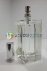 Kapatma Valfli 50 cc Boş Parfüm Şişesi (1 Koli: 108 Adet) - Thumbnail