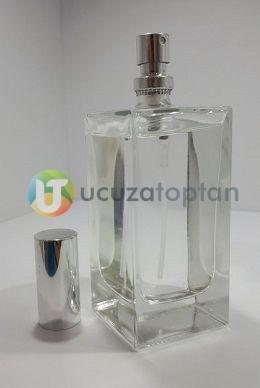 Kapatma Valfli 50 cc Boş Parfüm Şişesi (1 Koli: 108 Adet)
