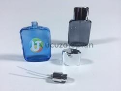 Kendinden Boyalı İki Renk Çeşitli 50 ml Boş Parfüm Şişesi - 1 Koli (140 Adet) - Thumbnail