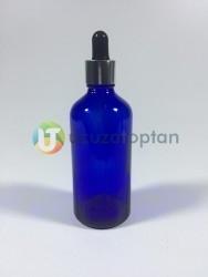Mavi Renk 100 cc Damlalıklı İlaç Şişesi - 1 Koli (140 Adet) - Thumbnail