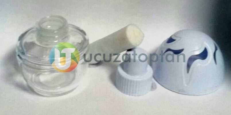 Plastik Kapaklı Yumurta Model 100 cc Boş Ortam ve Oto Kokusu Şişesi