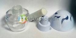 Plastik Kapaklı Yumurta Model 100 cc Boş Ortam ve Oto Kokusu Şişesi - Thumbnail