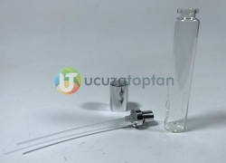 Şeffaf Cam Tüp Model 35 cc Boş Kalem Parfüm Şişesi - Thumbnail