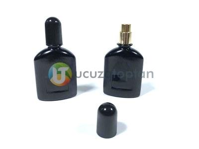 Siyah Renk 25 ml Tester Cam Şişe - 1 Koli (182 Adet)