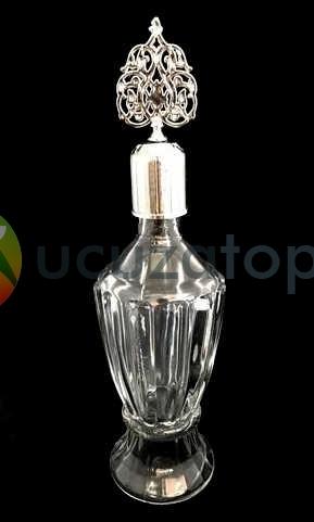 Vazo model 200 ml Dekoratif İksir Kolonya Şişesi - 1 Koli (24 Adet)