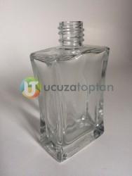 Vidalı Valf 50 ml Boş Cam Parfüm Şişesi İnce Belli - (1 Koli) - Thumbnail