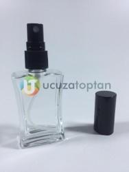 30 cc İç Bükey Boş Cam Parfüm Şişesi - 1 Koli (192 Adet) - Thumbnail
