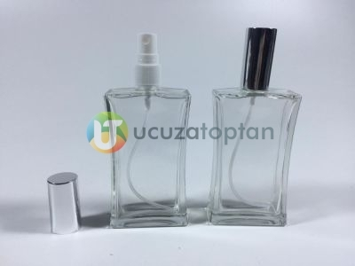 100 ml Boş Parfüm Şişesi İnce Belli - 54 adet (1 Koli)