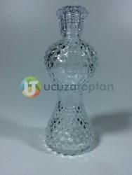 200 ml Dekoratif İnce Belli İksir Kolonya Şişesi (Boy 18 cm) - Thumbnail