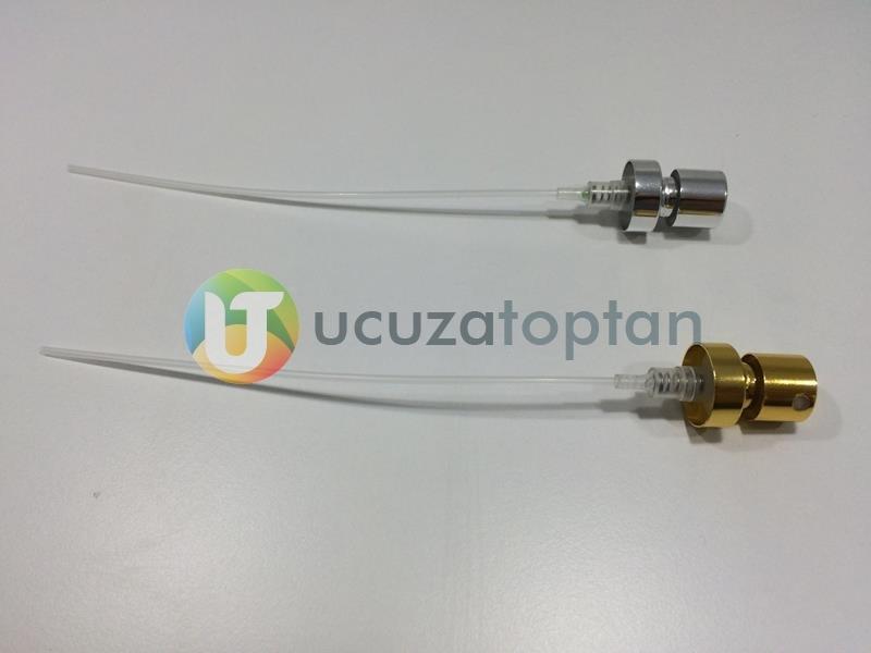 18 mm'lik Parfüm Şişeleri İçin Valfler (Gold & Silver) (1 Koli: 2000 adet)