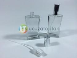 100 ml Boş Parfüm Şişesi İnce Belli - 80 adet (1 Koli) - Thumbnail