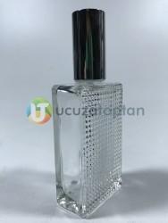 50ml Tırtıklı Boş Parfüm Şişesi Koli (132 adet) - Thumbnail