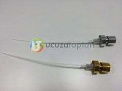 15 mm'lik Parfüm Şişeleri İçin Valfler (Gold & Silver) - Thumbnail