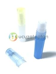 Boncuk Tıpalı Renkli Roll On Tester Yuvarlık Şişe - Thumbnail
