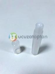 Boncuk Tıpalı Şeffaf PVC Roll On Şişe - Thumbnail