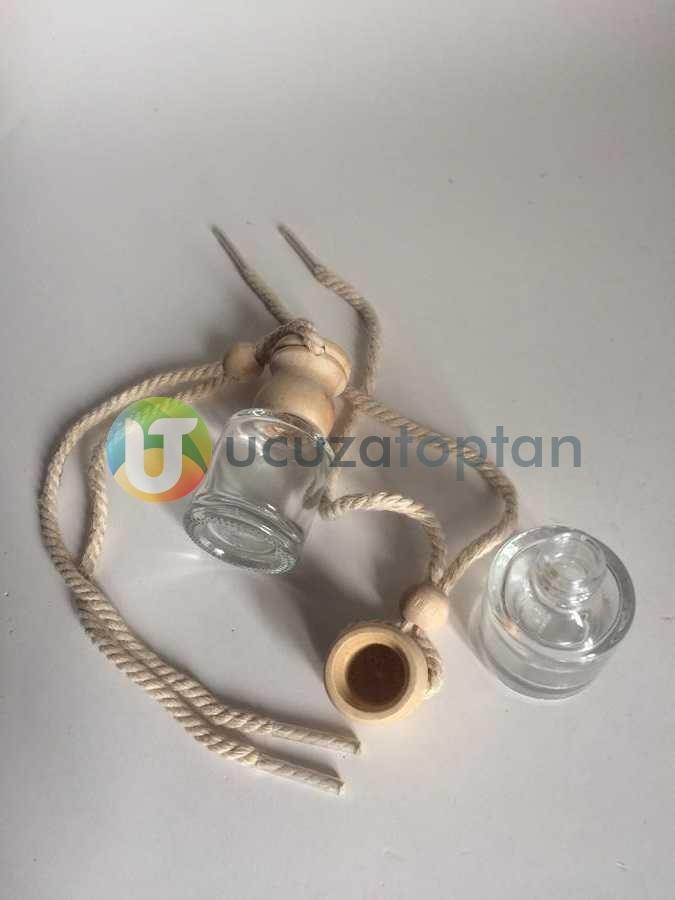 Silindir Boş Oto Kokusu Şişesi 8 ml (1 Koli - 416 adet)