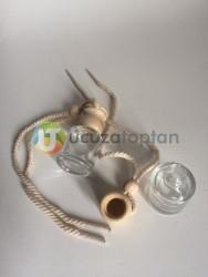 Silindir Boş Oto Kokusu Şişesi 8 ml (1 Koli - 416 adet) - Thumbnail