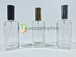 Çevirme Valfli 50 ml Iphone Boş Cam Parfüm Şişesi - (1 Koli 120 Adet) - Thumbnail