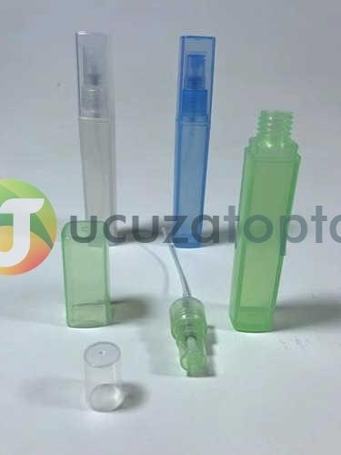 Çift Kapaklı Renk Seçenekli Çok Amaçlı Plastik Sprey Küçük Boy