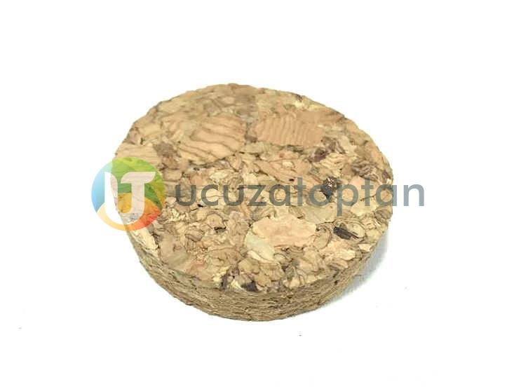 Mantar Tıpa Kapak (Alt:4cm - Üst:4,3cm - Yükseklik: 1,2cm)