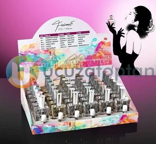 Feremon 50cc Kadın Parfüm 24 lü Stantlı Set
