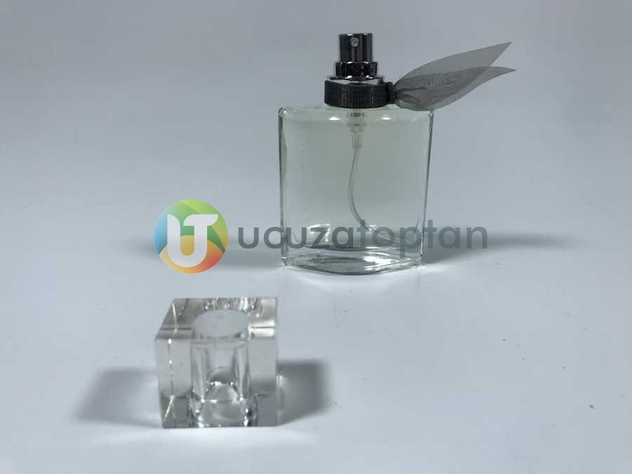Fiyonklu ve Sürlin Kapaklı 25 ml Tester Cam Şişe - 1 Koli (189 Adet)