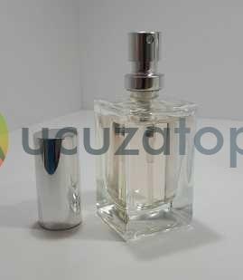 Kapatma Valfli 25 cc Boş Parfüm Şişesi (1 Koli: 180 Adet)