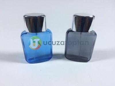 Kendinden Boyalı İki Renk Çeşitli 50 ml Boş Parfüm Şişesi - 1 Koli (140 Adet)