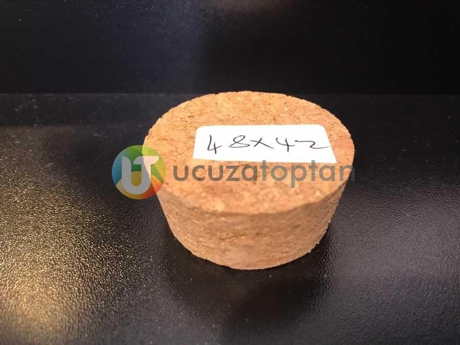 Küçük Boy Mantar Tıpa Kapak (48x42x20 mm)