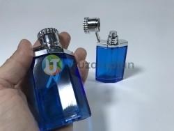 Mavi Renk 30 ml Tester Cam Şişe - 1 Koli (192 Adet) - Thumbnail