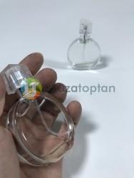 Metal Çerçeveli Dolunay Model 25 ml Tester Cam Şişe - 1 Koli (240 Adet) - Thumbnail