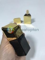 Mini Boy Altın Külçe Tasarımlı 20 ml Tester Cam Şişe - 1 Koli (180 Adet) - Thumbnail