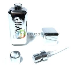 Mini Boy Gümüş Renk Bay VIP 30 ml Tester Cam Şişe - 1 Koli (192 Adet) - Thumbnail