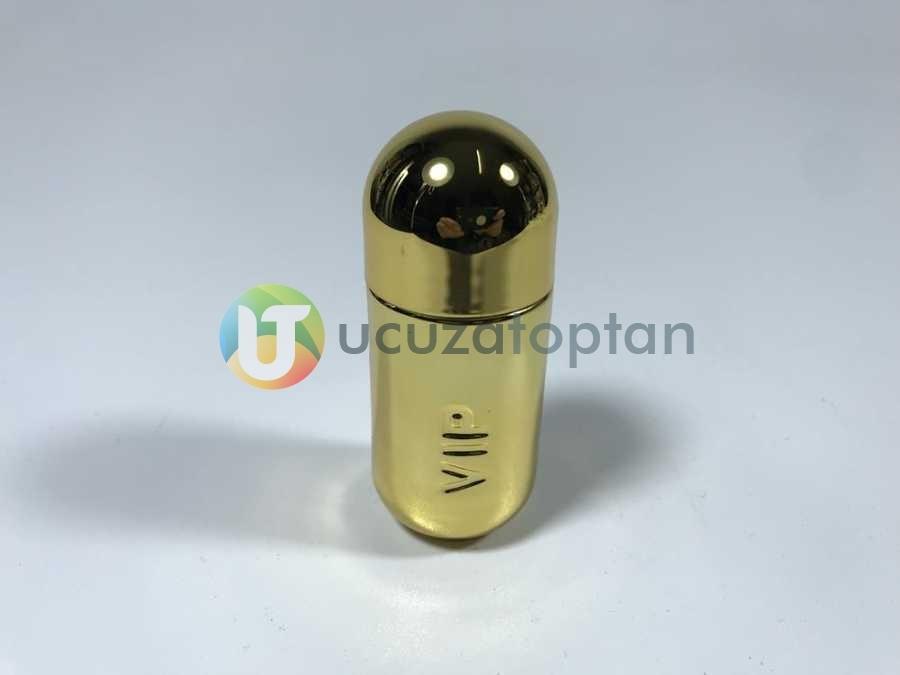 Mini Boy Sarı Renk Bayan VIP 35 ml Tester Cam Şişe - 1 Koli (192 Adet)