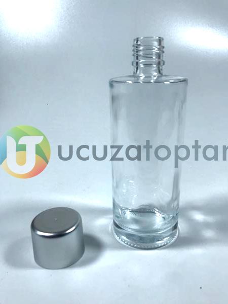 Plastik Kapaklı 200 cc Kolonya Şişesi - 1 Koli (48 Adet)