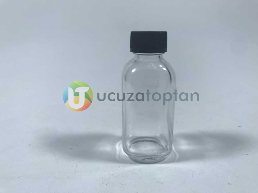 Plastik Vidalı Kapaklı 50 cc Maraska Numune Şişesi - (1 Koli 160 Adet)