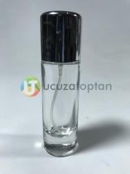 Şeffaf Cam 30 cc Boş Parfüm Şişesi - 1 Koli (120 Adet) - Thumbnail