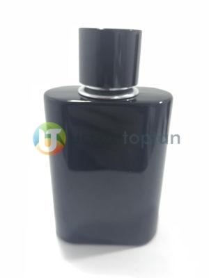 Siyah Renk Kapatma Valfli Set Halinde 100 cc Boş Parfüm Şişesi (1 Koli: 84 Adet)