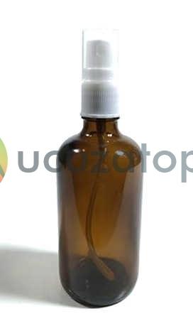 Sprey Valfli Kapaklı Kahverengi İlaç Şişesi - 1 Koli (68 Adet)