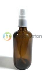 Sprey Valfli Kapaklı Kahverengi İlaç Şişesi - 1 Koli (68 Adet) - Thumbnail