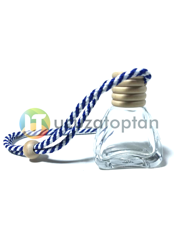 Üçgen Model Boş Oto Kokusu Şişesi 12 ml (1 Koli - 400 adet)