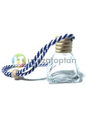 Üçgen Model Boş Oto Kokusu Şişesi 12 ml (1 Koli - 400 adet) - Thumbnail