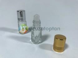 Üstü Döner Top Başlıklı 3 cc Roll On Tester Şişe - 1 Koli (960 adet) - Thumbnail